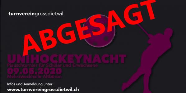 Unihockeynacht 2020 – ABGESAGT