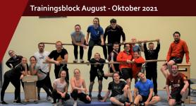 Trainingsblock August – Oktober 2021
